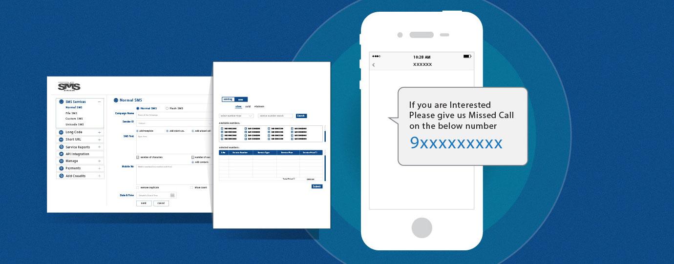 Send Bulk SMS to Missed Call Service - Smsstriker com